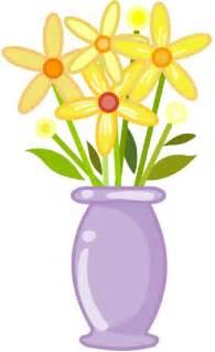 vase of flowers clip