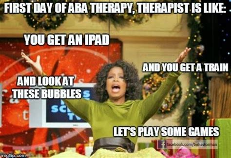 Aba Memes - pairing developing rapport i love aba
