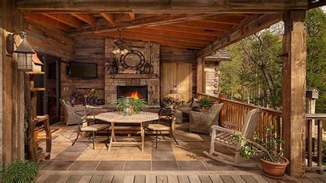 log cabin porch rustic porches log cabin with wrap around porch rustic