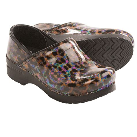 dansko clogs for dansko professional print clogs for 8923p save 38