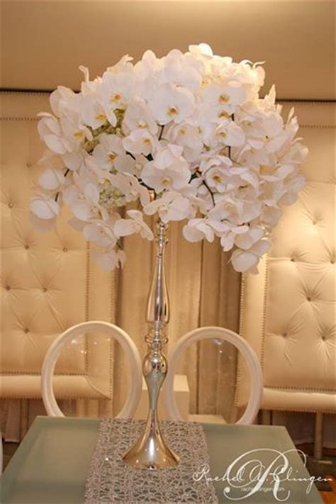 white orchid centerpieces elevated centerpieces flirty fleurs the florist inspiration for floral designers