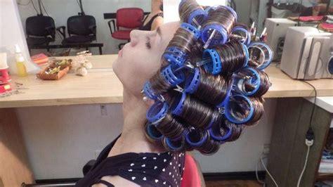 roller set rollers and vintage on pinterest 103 best rollers images on pinterest rollers in hair