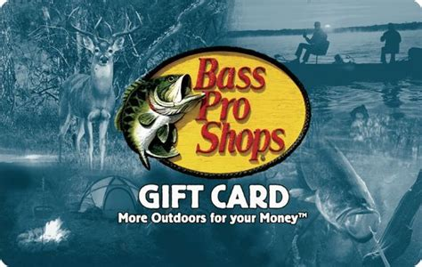 Bass Pro Gift Cards Where To Buy - bass pro shops gift card 25 50 100 mail delivery ebay