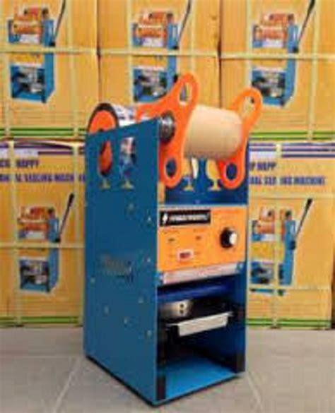 Sealer Murah jual bubuk cincau hitam instant kemasan curah mesin cup