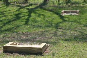 how to make a backyard pit build a horseshoe pit in your backyard