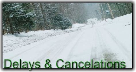 Winter Weather High Volume Delays Communications Delay Closing Decision Process Faqs