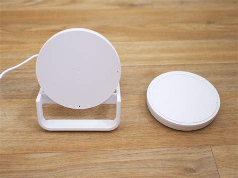 belkin boost  wireless charging pad  stand review macrumors