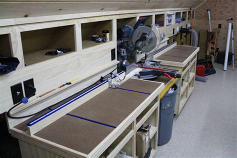 chop saw bench miter saw dust collection and miter saw table on pinterest