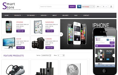 23 best ecommerce shopping html5 css3 templates to sell