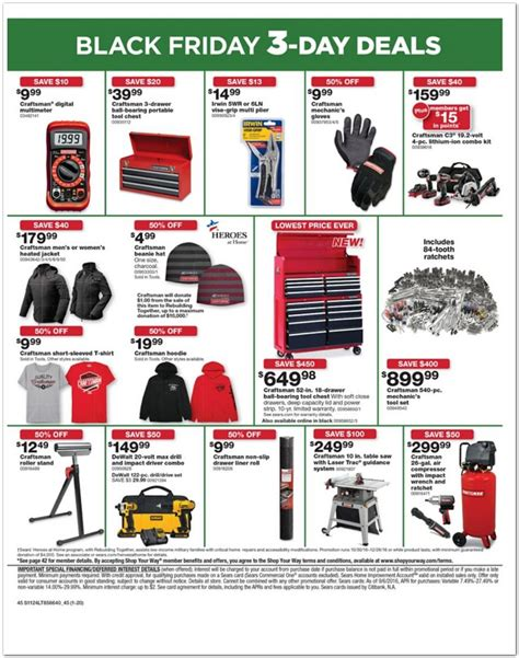 Black Friday Pit Sale Sears Black Friday Ad And Sears Black Friday Deals For