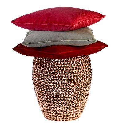dot copper stool dot stool copper by pols potten
