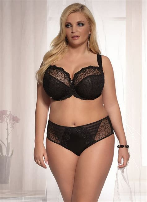 Jual Lingering Big Size Stella Plus Size Sheer Bra Up To J Cup From Kris Line