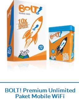 Wifi Bolt Unlimited update paket bolt unlimited pasca bayar layanan 4g dari internux mobile and