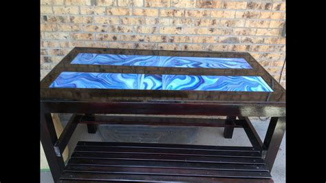 how to a resin table top diy clear resin table top brokeasshome com