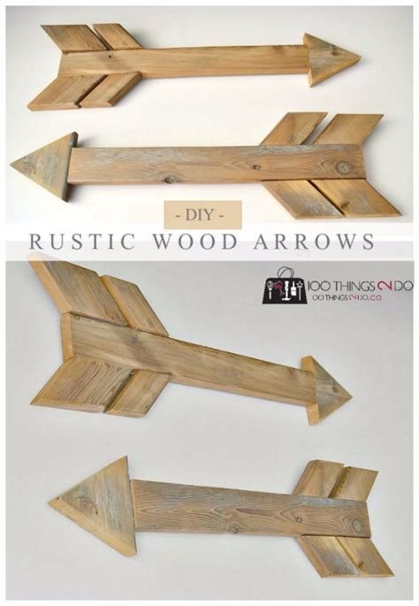 diy wood projects to sell 50 easy crafts to make and sell wood arrow