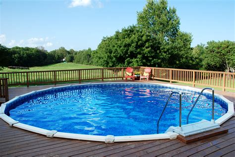 pools for home above ground doughboy pools pools for home
