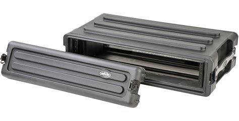 Shallow Rack by Skb 1skb R2s Roto Molded 2u Shallow Rack