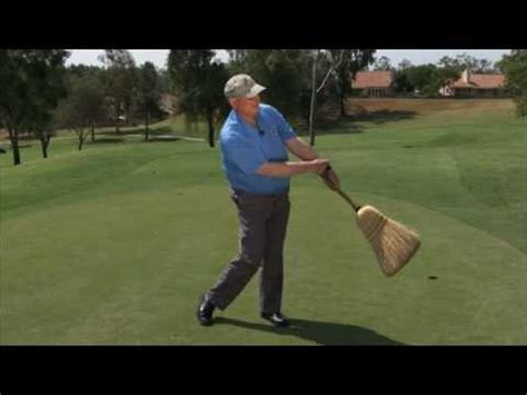 best exercises to improve golf swing golf drill broom exercise how to improve impact and