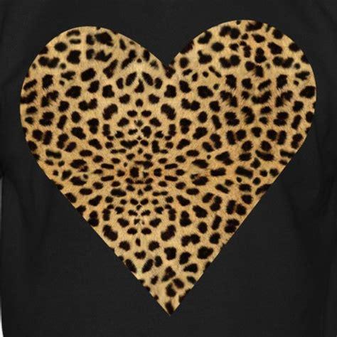 orange circle leopard print heart sweatshirt crewneck sweatshirt