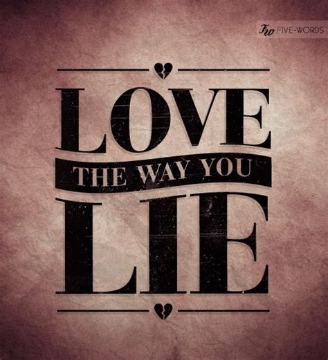 eminem i love the way you lie lyrics quot love the way you lie quot eminem lyrics ft rihanna
