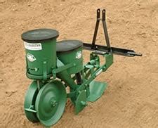 Single Row Seed Planter by Cole Planter Company 12 Mx Multiflex Precision Planting