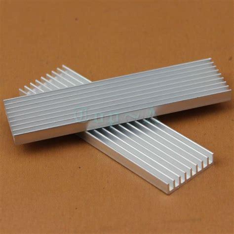 Promo Heat Sink Aluminium Radiator Cooling Pendingin 11 X 11 X 5 10pcs diy heatsink cooling cooler radiator 100mm x 28mm x