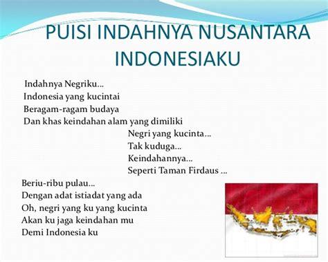 contoh naskah puisi pendek cinta tanah air puisi indonesia