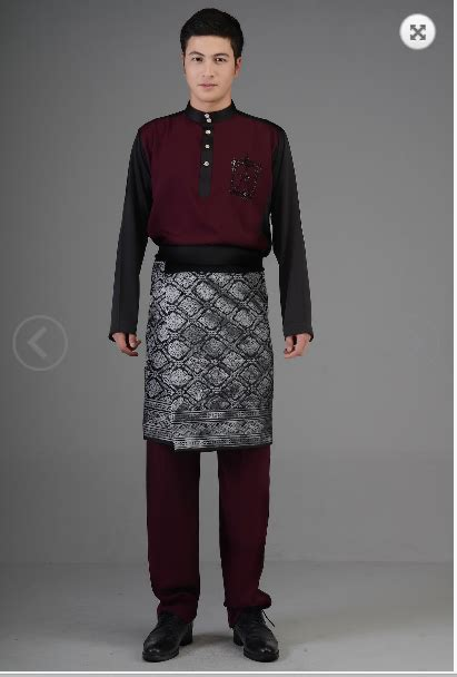 baju melayu terkini traditional malaysian clothing tanailee