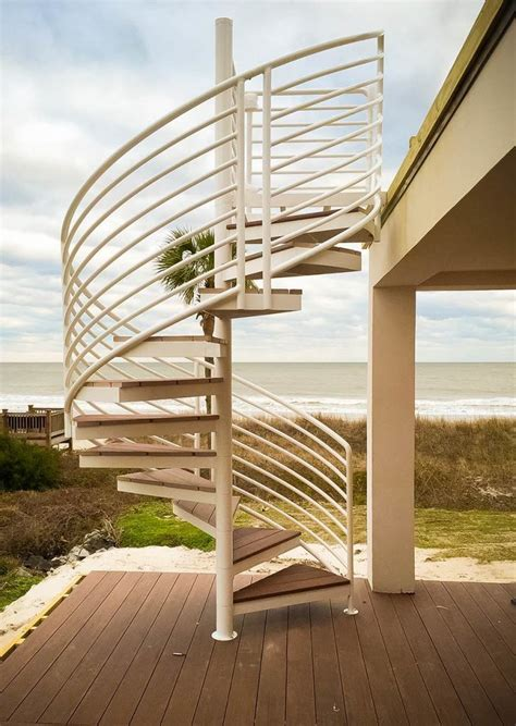 exterior staircase exterior stairs design construction artistic stairs