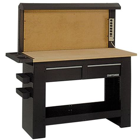 craftsman work benches craftsman 59018 workbench backwall sears outlet