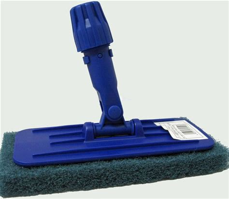 doodlebug scrubber coarse sweep push broom soap stop