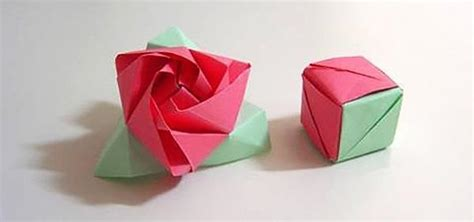 Origami Box Flower - origami driverlayer search engine