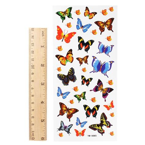 temporary tattoo paper ireland butterfly totem insect waterproof temporary tattoo sticker