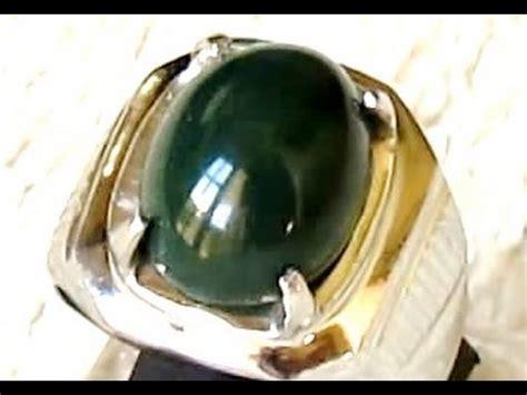 Cincin Wanita Batu Akik Asli Dari Batu Lumut wanita cantik koleksi batu cincin garut ijo lumut doovi