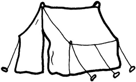 bible story coloring book white tent picture clipart best