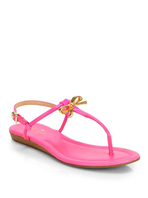 pink patent sandals kate spade tracie patent leather sandals in pink