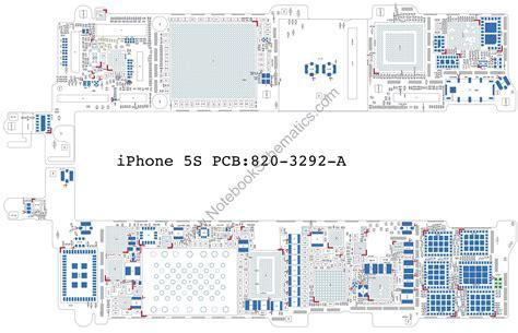 iphone 5s motherboard diagram iphone 5s 820 3292 a schematic notebookschematics