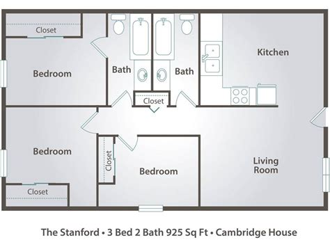floor plans for 3 bedroom apartments 3 bedroom apartment floor plans pricing cambridge