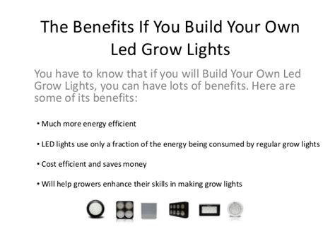build your own led grow lights build your own led grow lights
