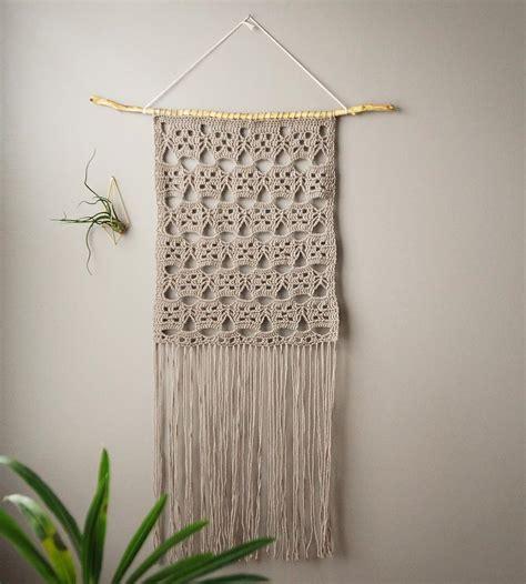 free pattern wall hanging stella lace crochet wall hanging home decor lighting