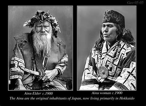 Ainu Japan ainu tlingit haida and tsimshian