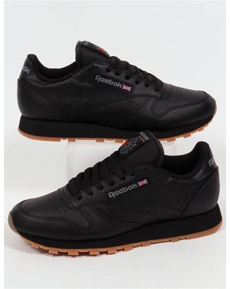 Reebok Black reebok classic leather black jlapressureulcerpartnership co uk