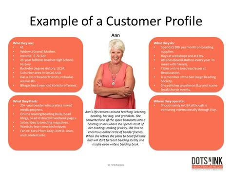 customer profile 11 exle user profile creating