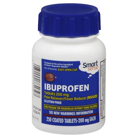 ibuprofen before bed smart sense ibuprofen 200 mg coated tablets 250 tablets