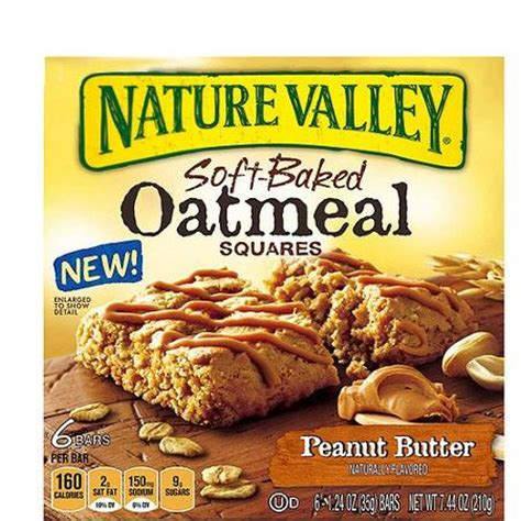 Nature Valley Detox by Nature Valley Peanut Butter Soft Baked Oatmeal Squares 6