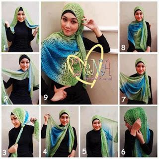 tutorial hijab segi empat terbaru 2013 tutorial cara memakai hijab paris modern terbaru 2014
