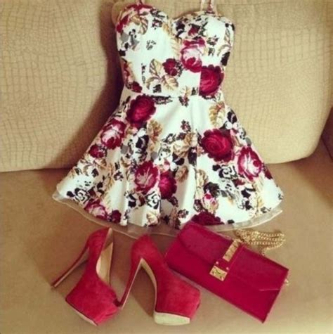 flower dresses and shoes fashion dress shoes high heels