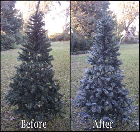 chet pourciau design a new look for a faux christmas tree
