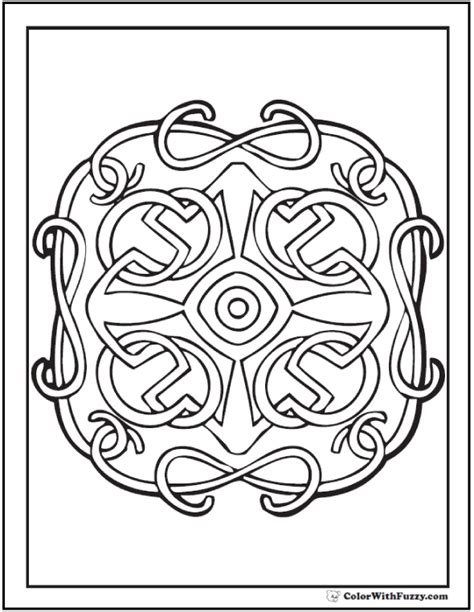 90 celtic coloring pages scottish gaelic