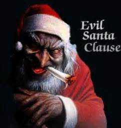 Evil santa clause by melman01 on deviantart